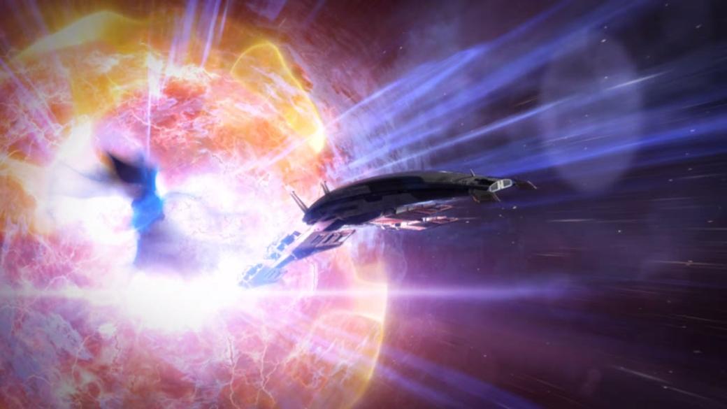 Mass Effect Explosion